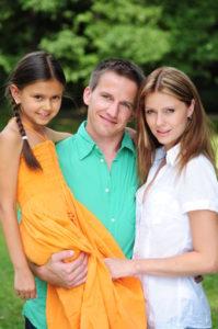 Ako komunikovať s nevlastnou dcérou?